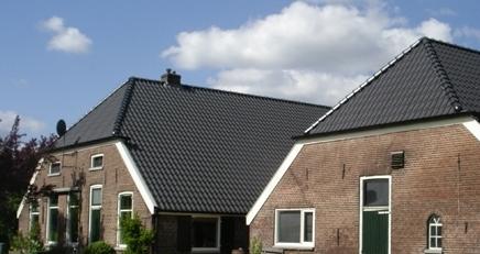 geïsoleerde dakpanplaten