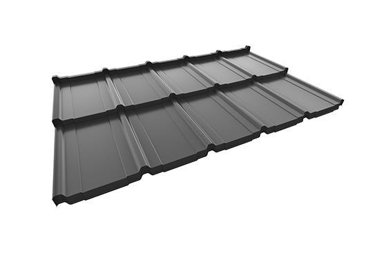modulaire stalen dakpanplaat